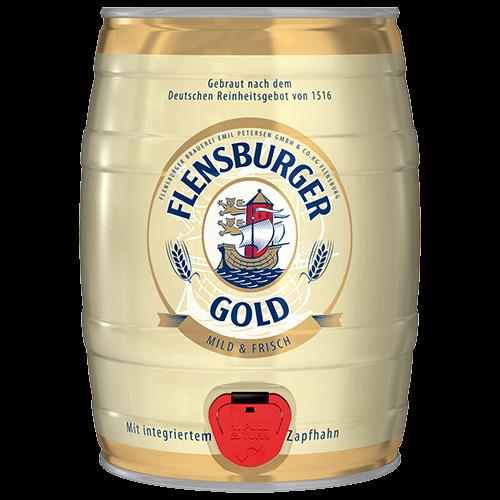 Flensburger Gold - 5l Fass - Trimex Trading
