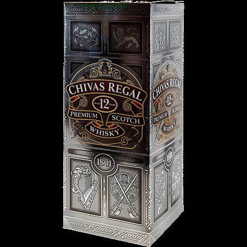 Chivas Regal - 12 years old - Premium Scotch Whisky
