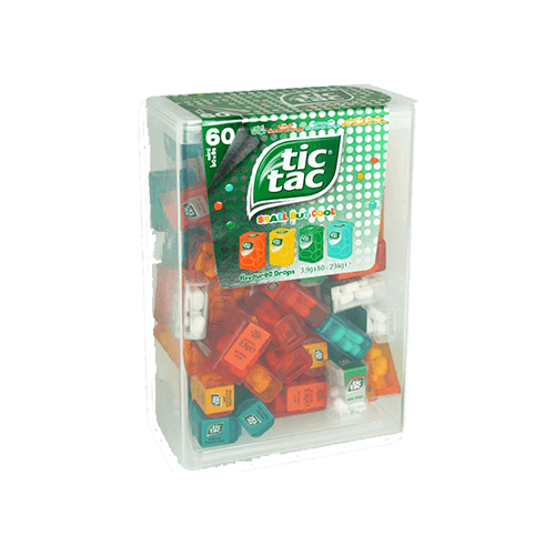 Tic Tac Lilliput 60 Mini-Boxen - Trimex Trading