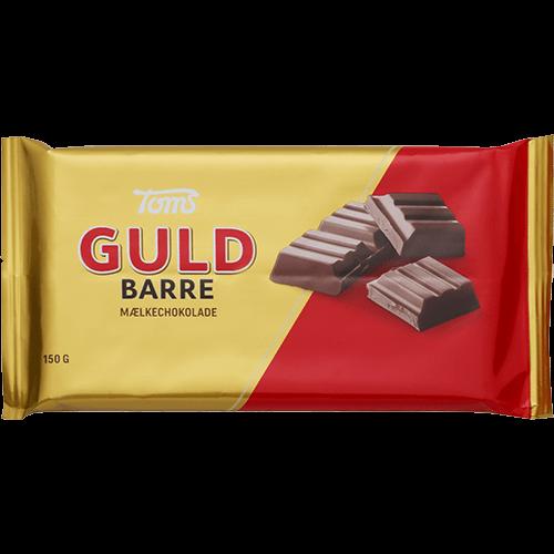 Toms Guld Barre Mælkschokolande - Trimex Trading